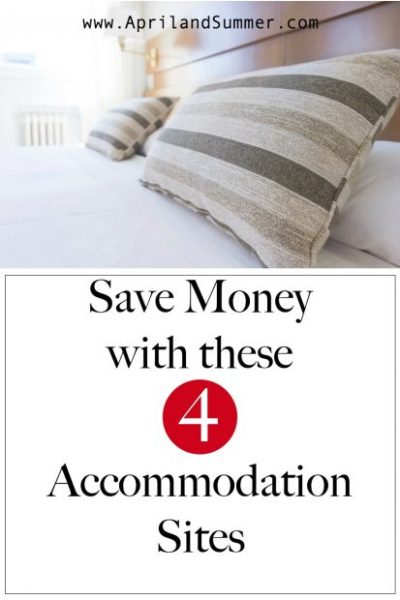 Save Money with these accommodation sites