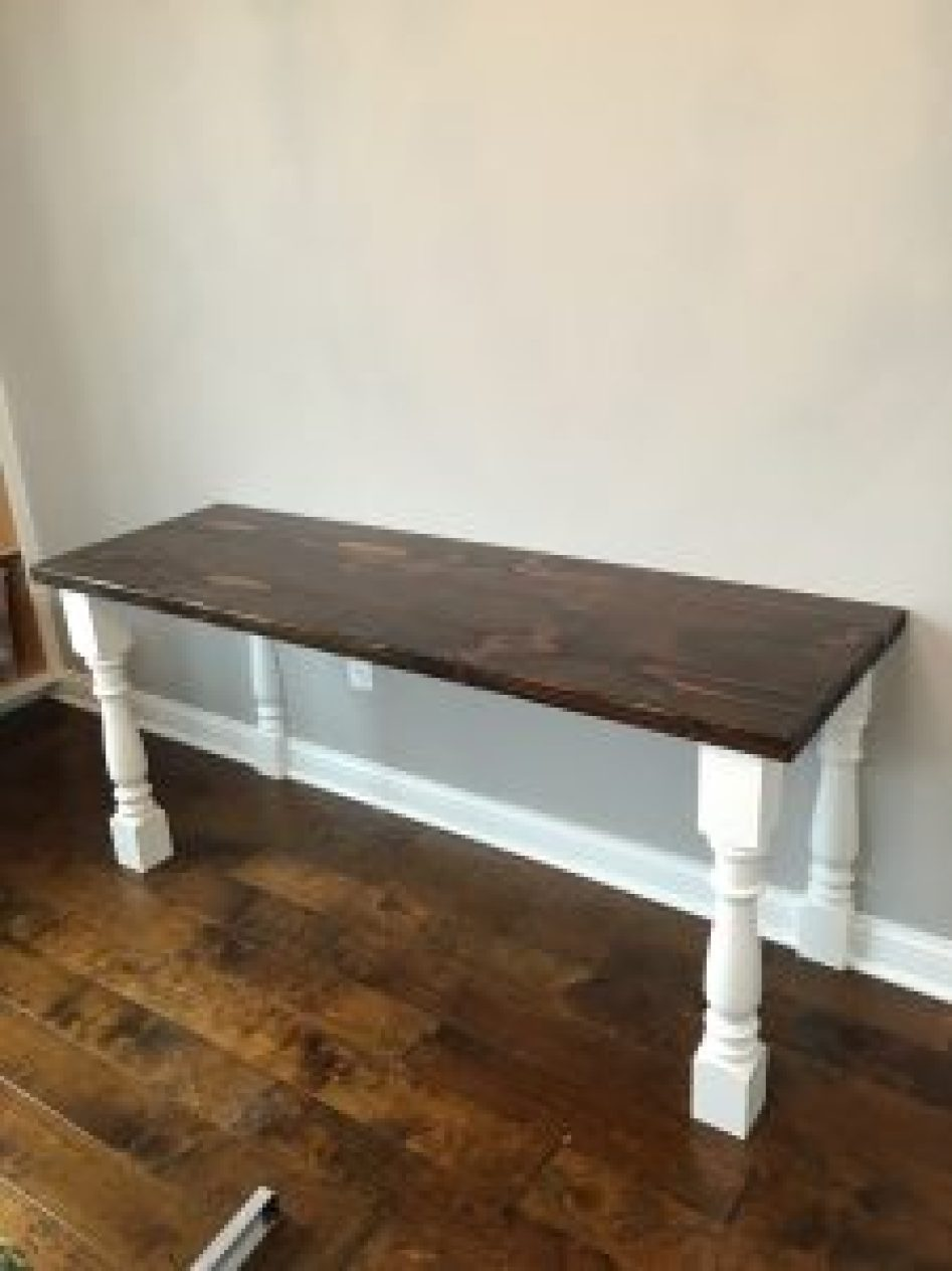 how to make a sewing table