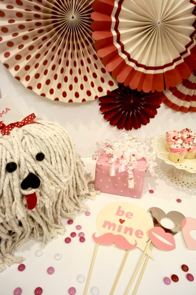 how to make the cutest puppy valentine box