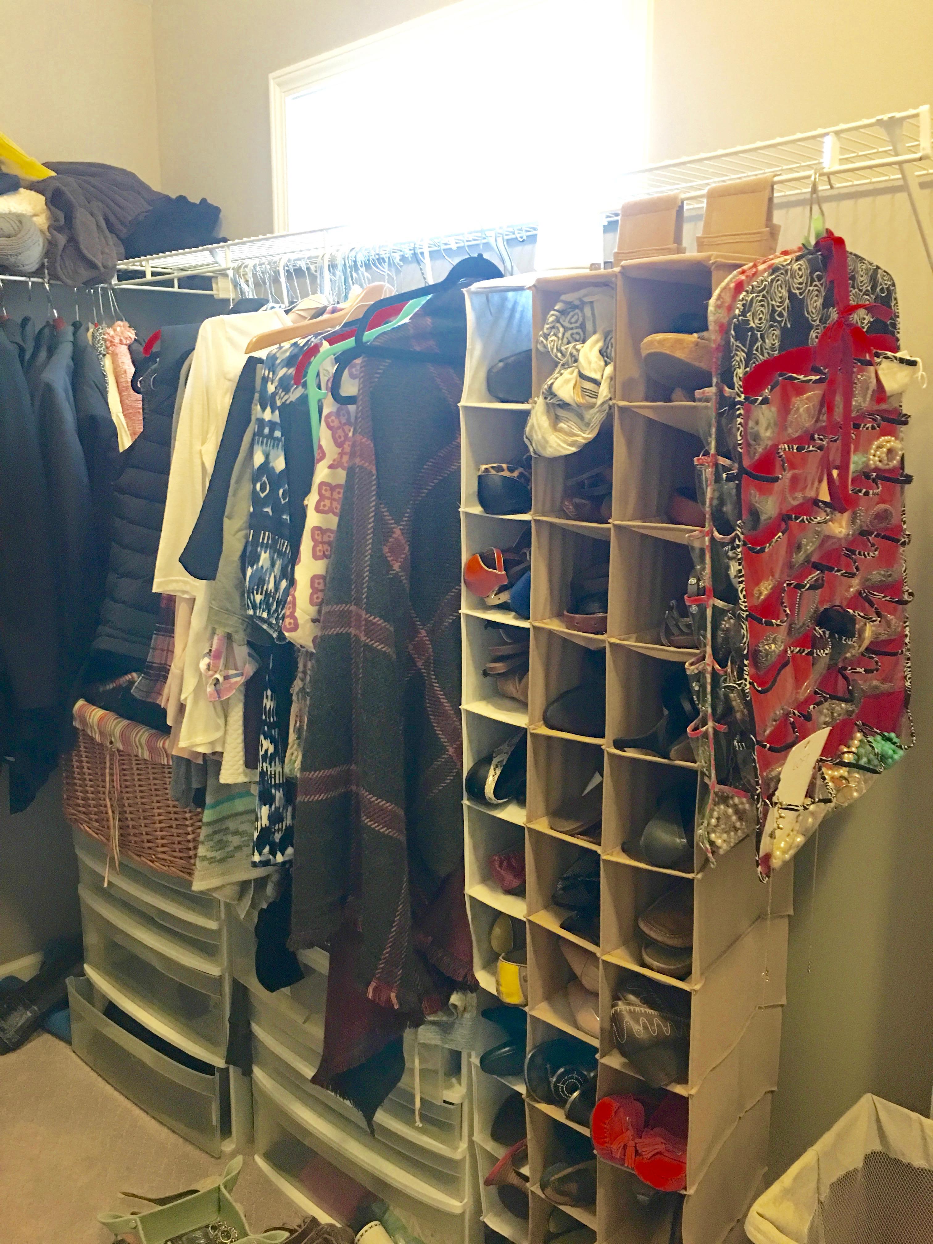 best storage for a master closet