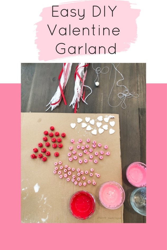 Easy DIY Valentine Garland