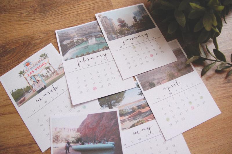 Diy 2014 Desk Calendar April Everyday