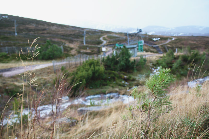 The Cairngorm Mountain Ski Area, Aviemore, Scotland