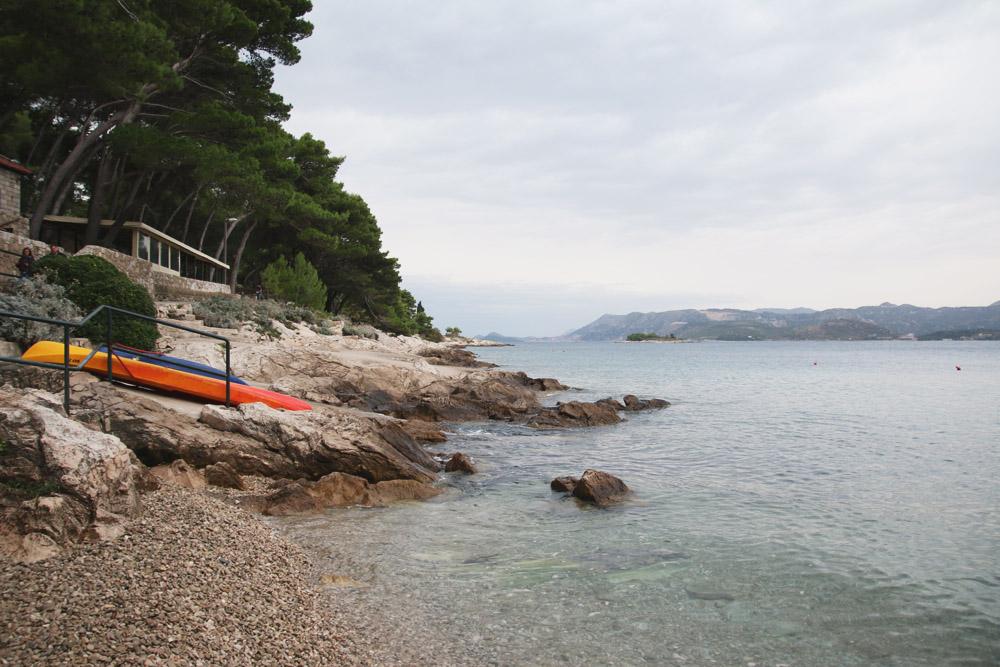 Cavtat Beach, Croatia