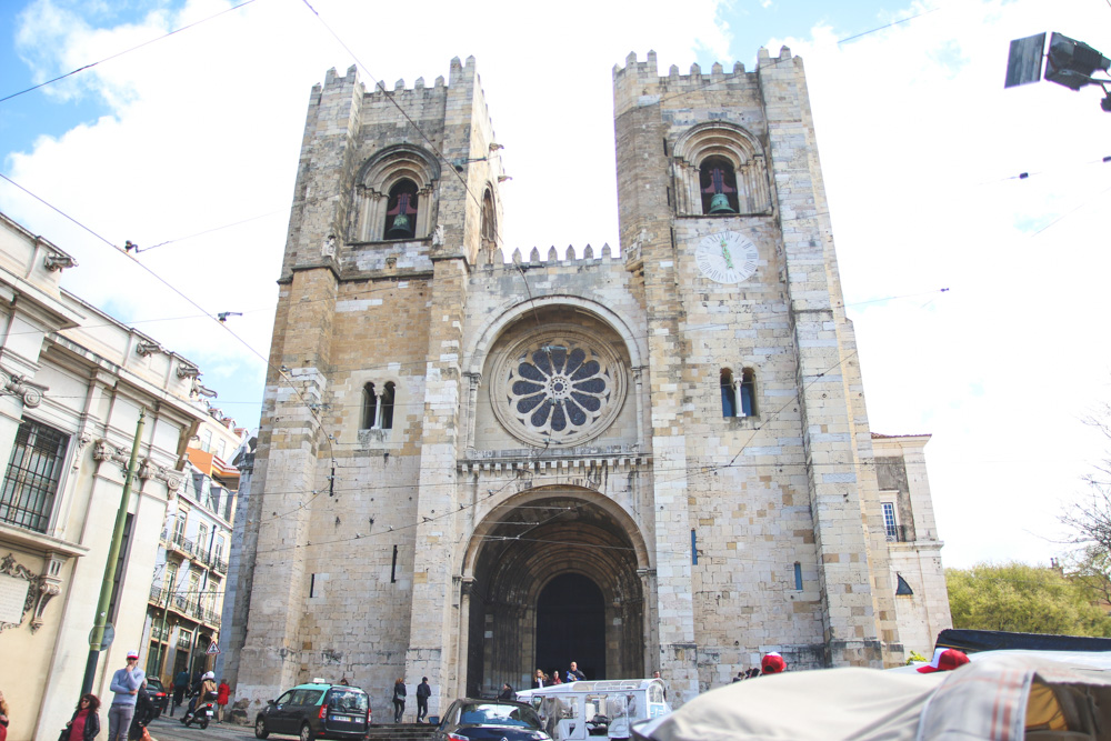 Se Cathedral in Alfama, Lisbon, Portugal