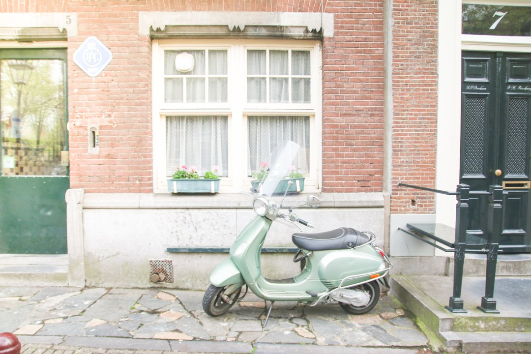 Moped in Amsterdam