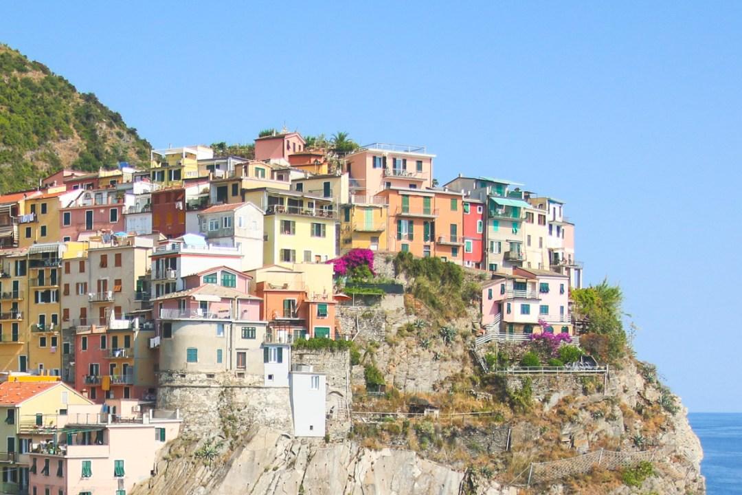 Manarola in Cinque Terre, Liguria, Italy