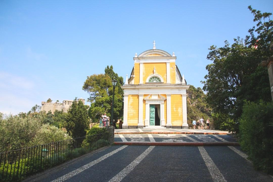 Church in Portofino, Liguria, Italy