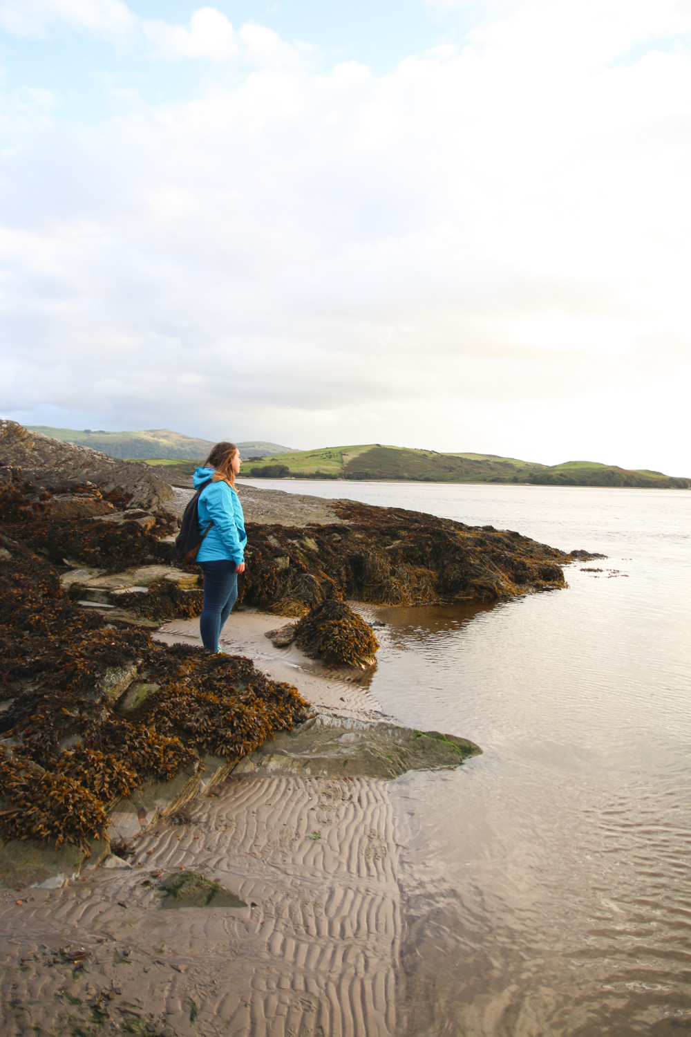 Portmeirion Beach, North Wales