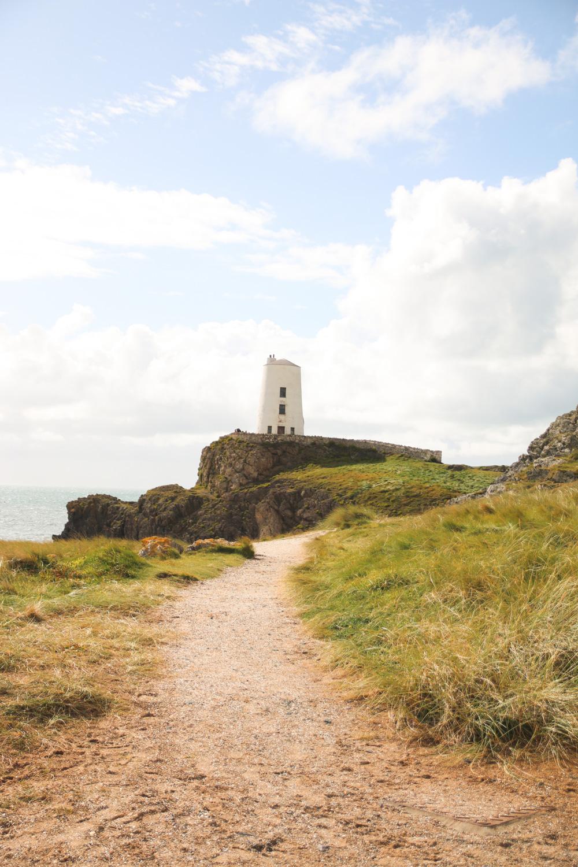 Tŵr Bach lighthouse, Llanddwyn Island, Anglesey, Wales