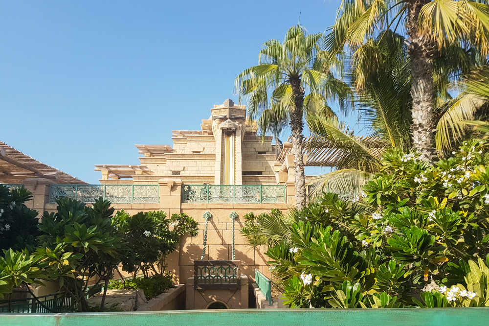 Leap of Faith at Aquaventure Waterpark, Atlantis the Palm, Dubai