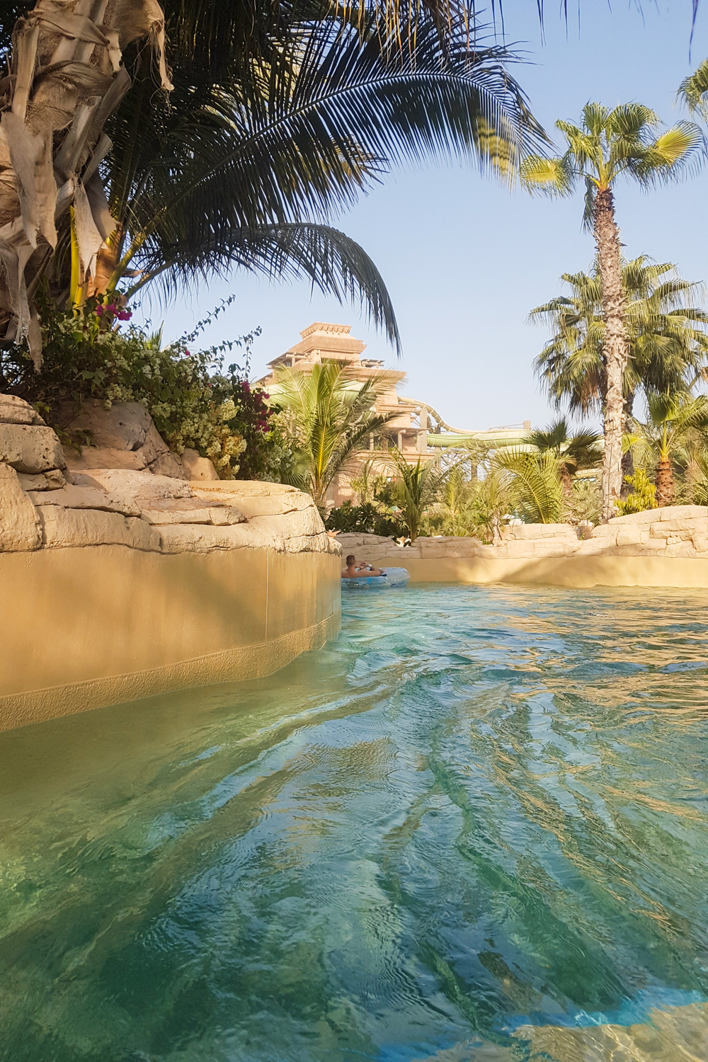 Lazy River at Aquaventure Waterpark, Atlantis the Palm, Dubai
