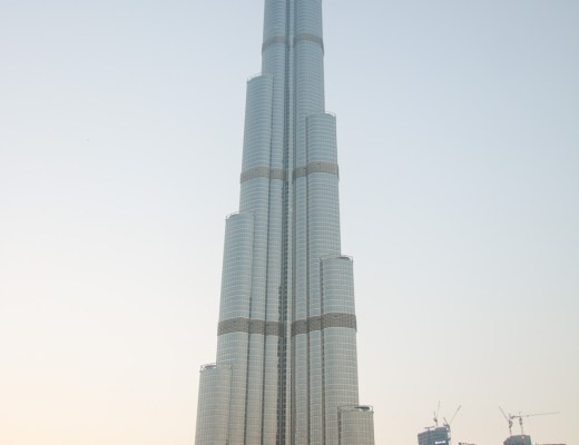 View of Burj Khalifa from Dubai Mall