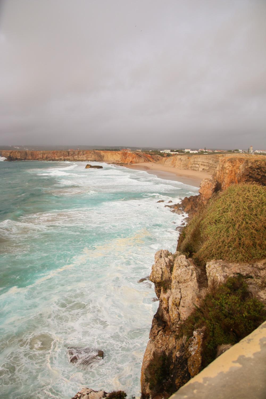 Views of Cabo St Vincent at Sagress Fortress, The Algarve