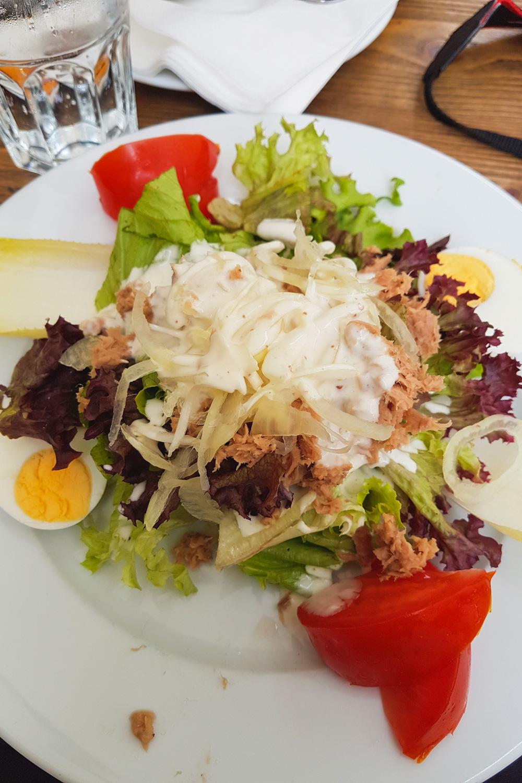 Salad in Colmar