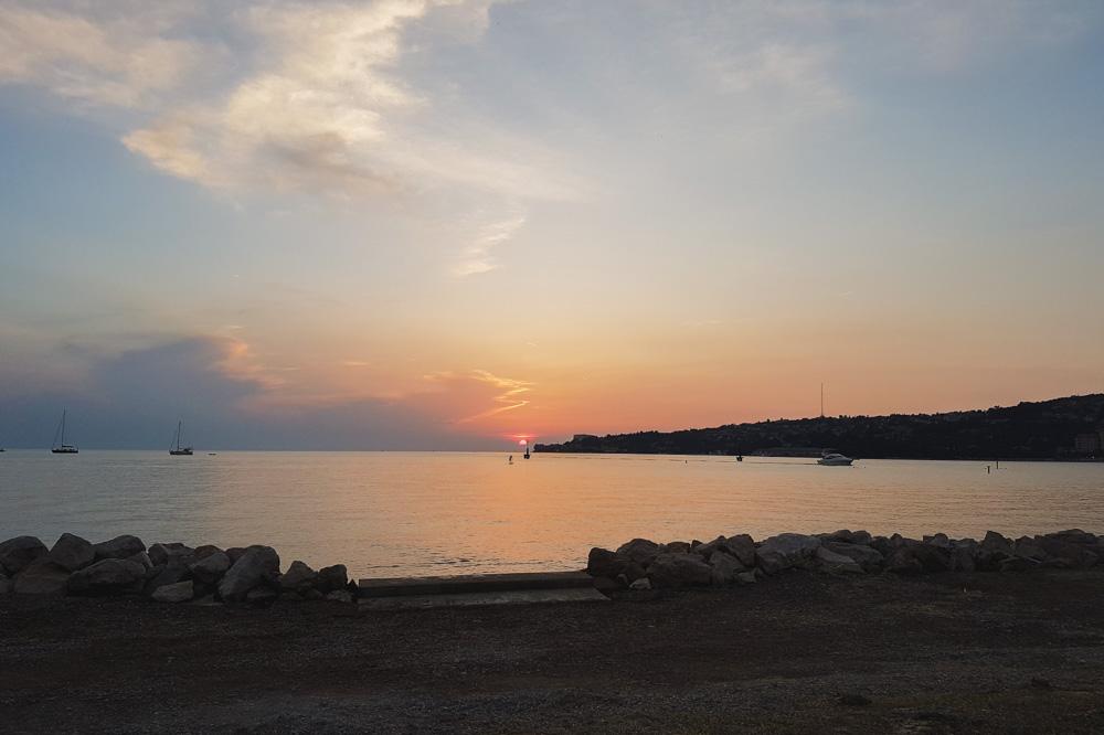 Slovenia beach near Piran