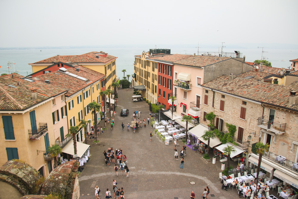 Views from the Scaliger Castle in Sirmione, Lake Garda