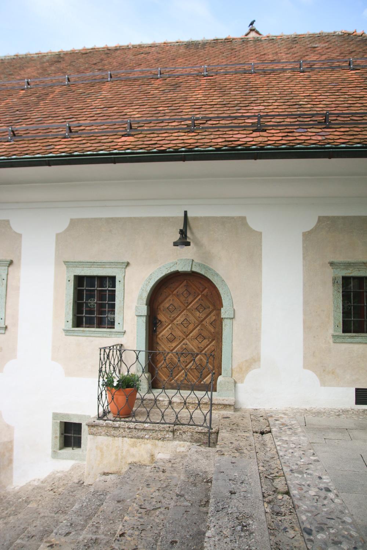 Bled Island. Lake Bled Slovenia
