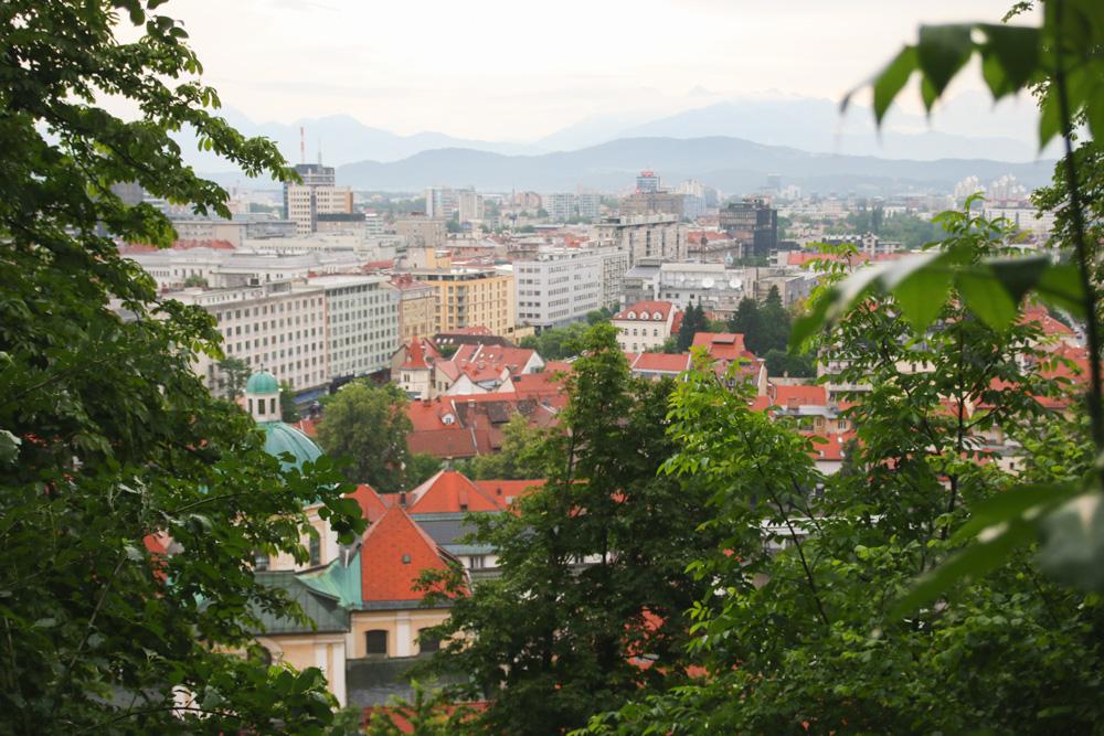 View over Ljubljana, Slovenia