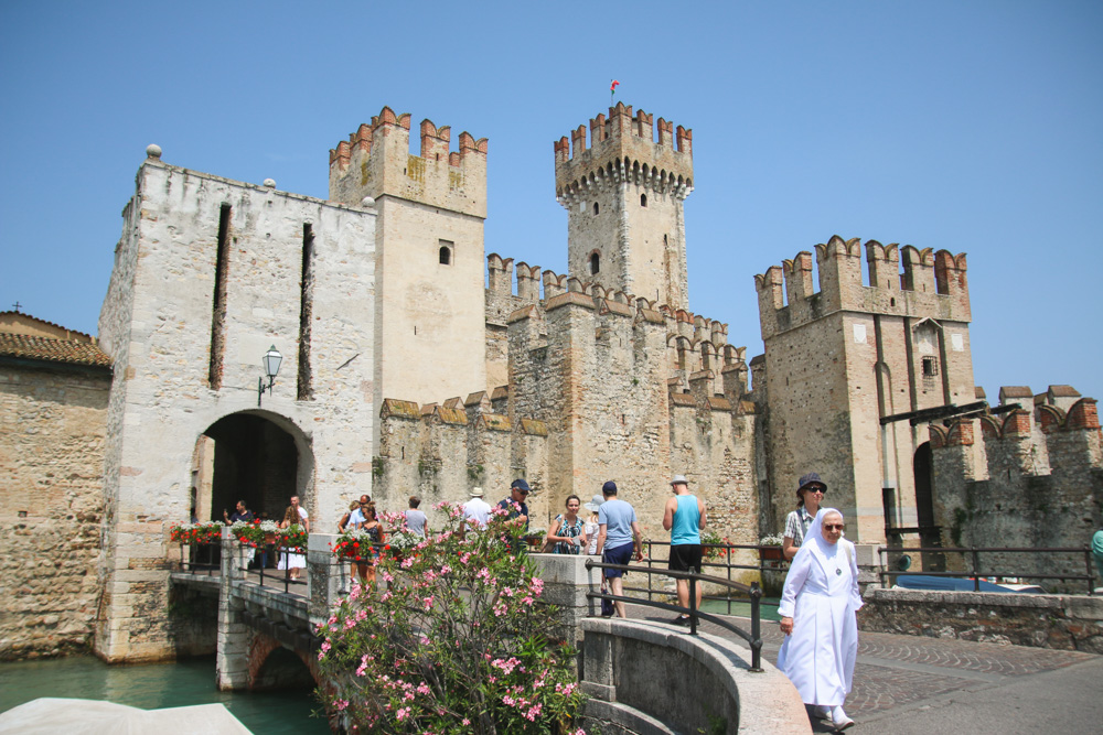 Scaliger castle, Sirmione, Lake Garda