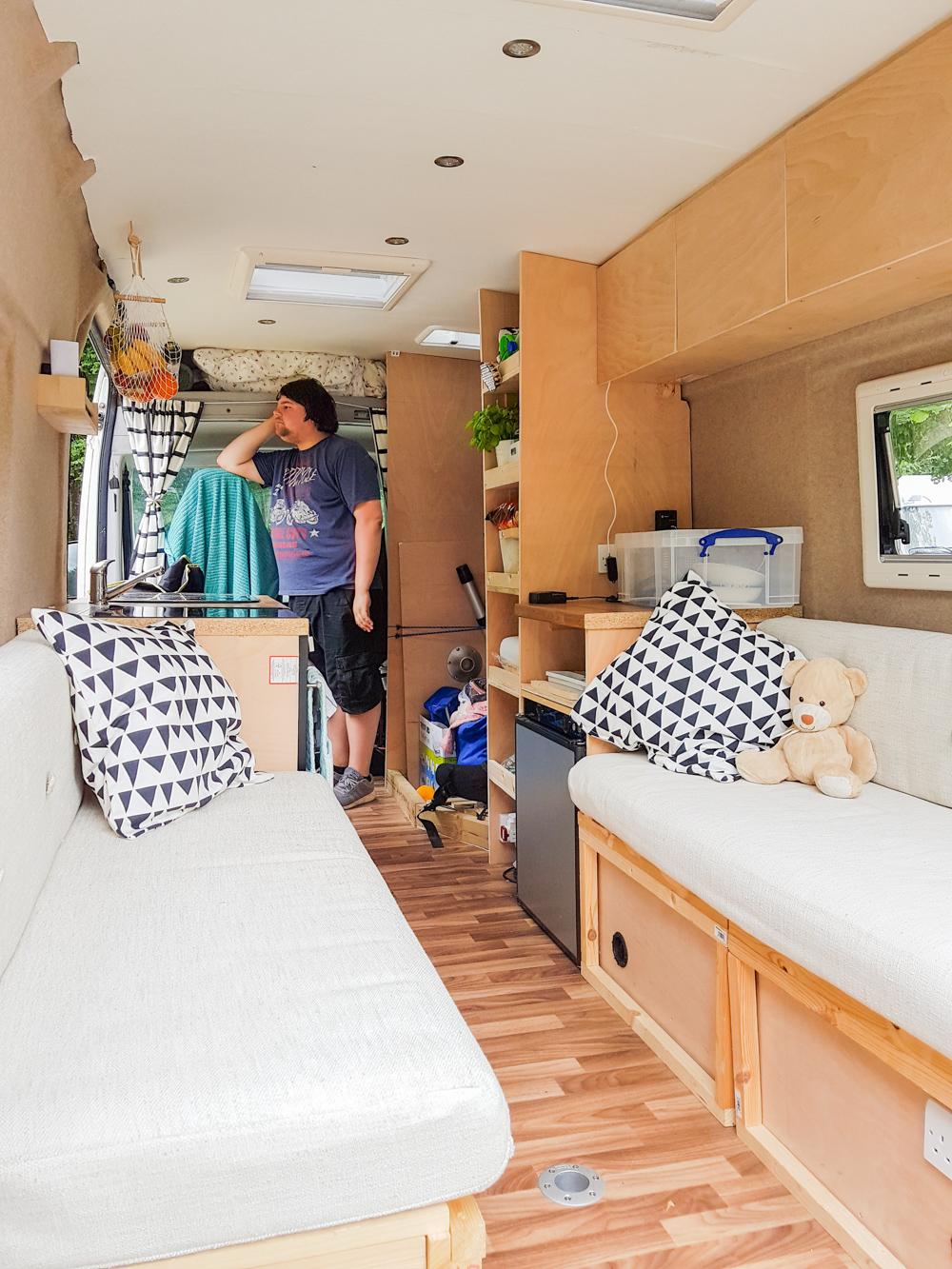 Campervan Conversion Progress