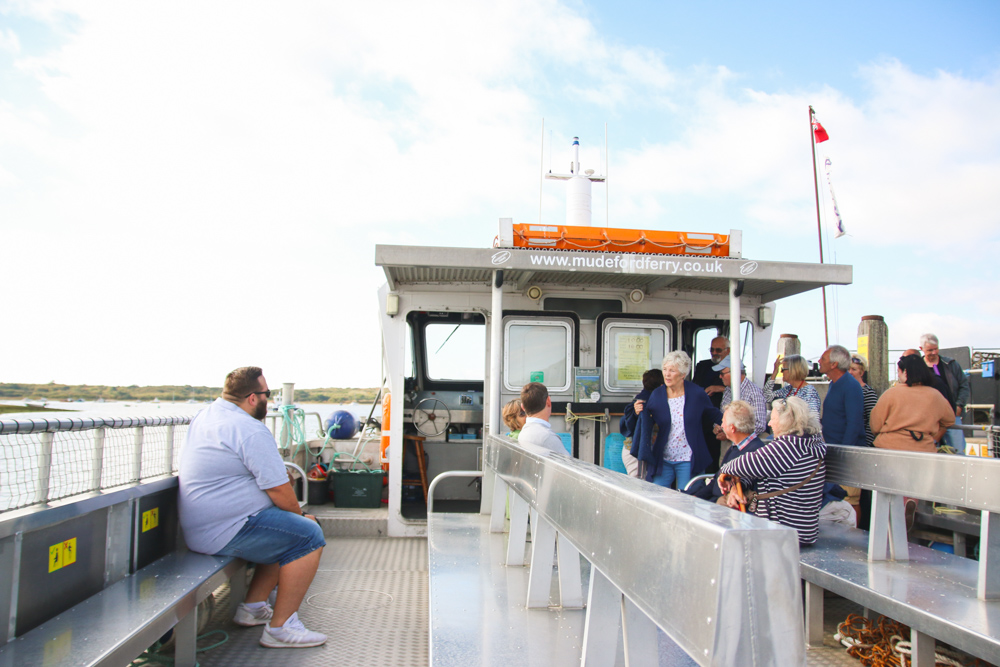 Mudeford Beach Ferry, Dorset