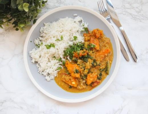 Vegan Pumpkin & Lentil Curry