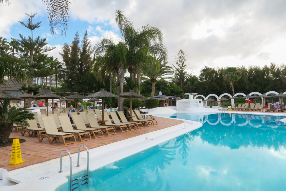 Melia Tamarindos Swimming Pool, Maspalomas, Gran Canaria