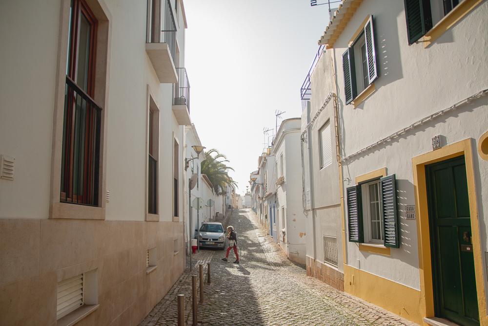 Old buildings in Lagos, Portugal