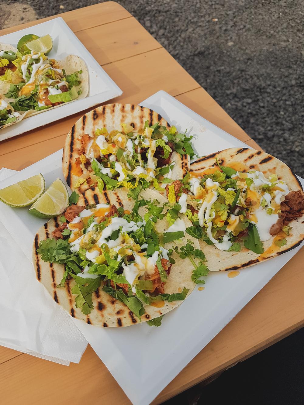 Jackfruit Tacos at Bite Street Northampton