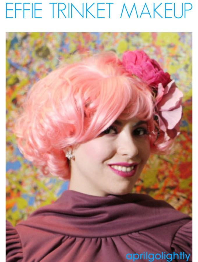 The Hunger Games Effie Trinket Makeup Tutorial