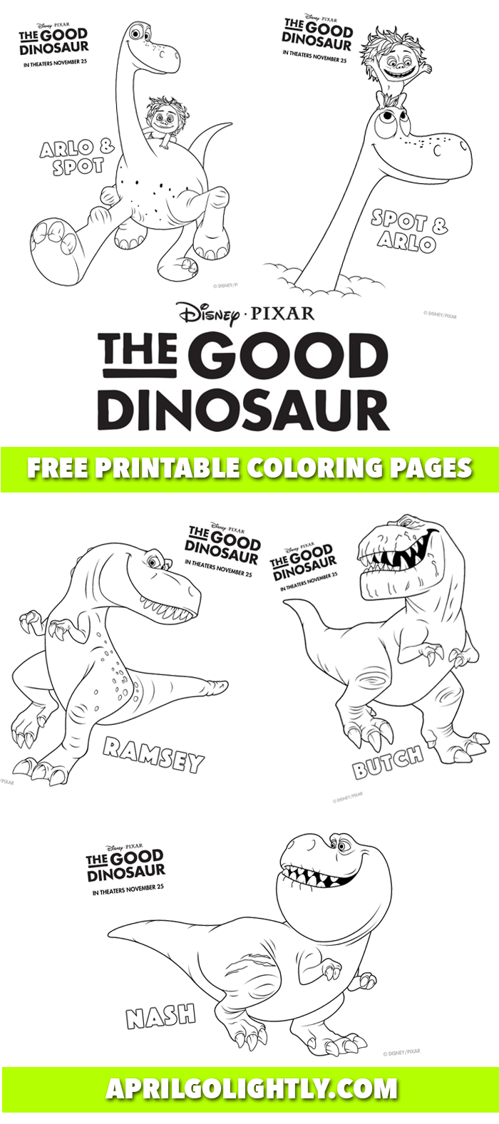 The-Good-Dinosaur-Free-Printables
