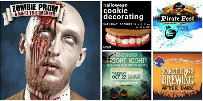 South Florida October Events – Wednesday October 21st – Sunday October 25th