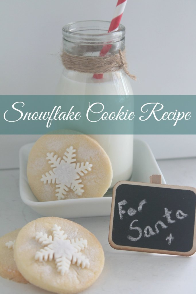 Easy Snowflake Cookie Recipe