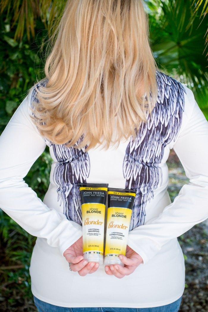 John Frieda Sheer Blonde® Go Blonder Lightening Shampoo and Conditioner