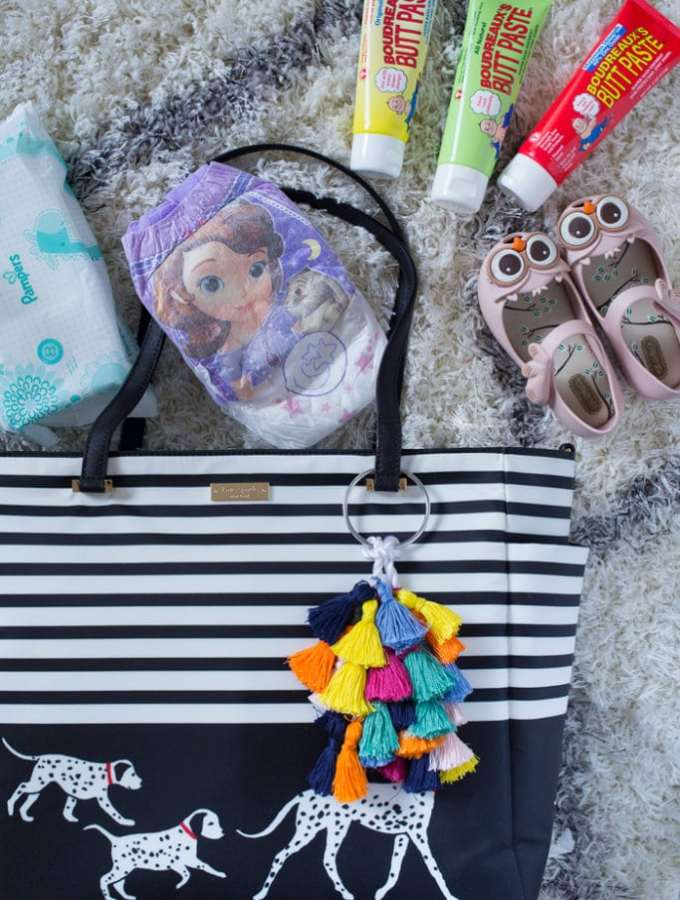 Diaper Bag Essentials & Diaper Bag Charm Tutorial