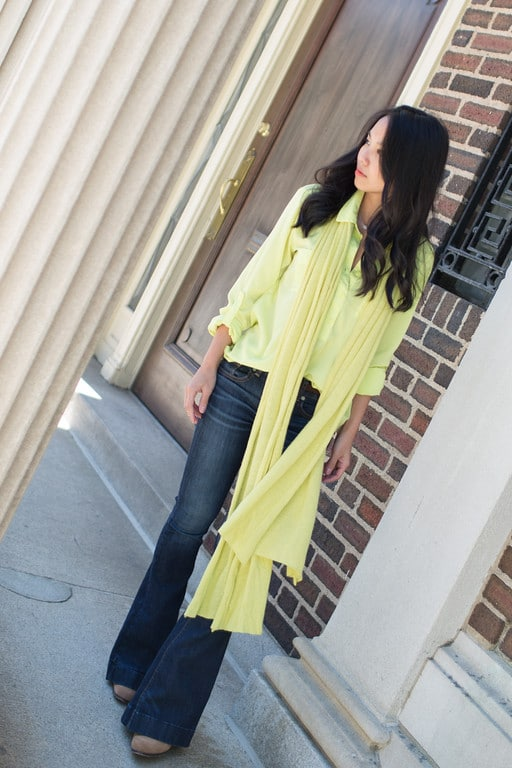 Lime on Lime from Kate Style Petite