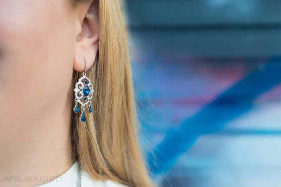 Carolee Cloister Chandelier Earrings