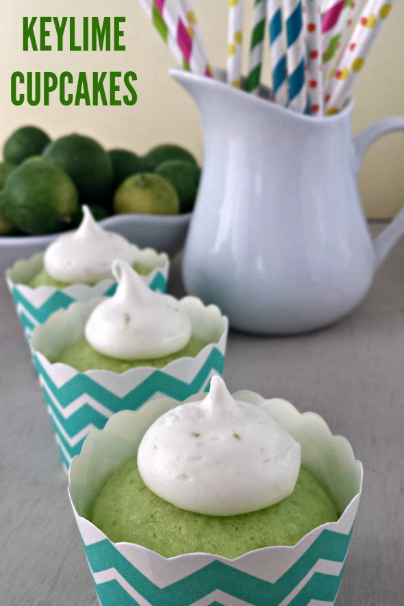 Frosted Keylime Cupcakes Recipes