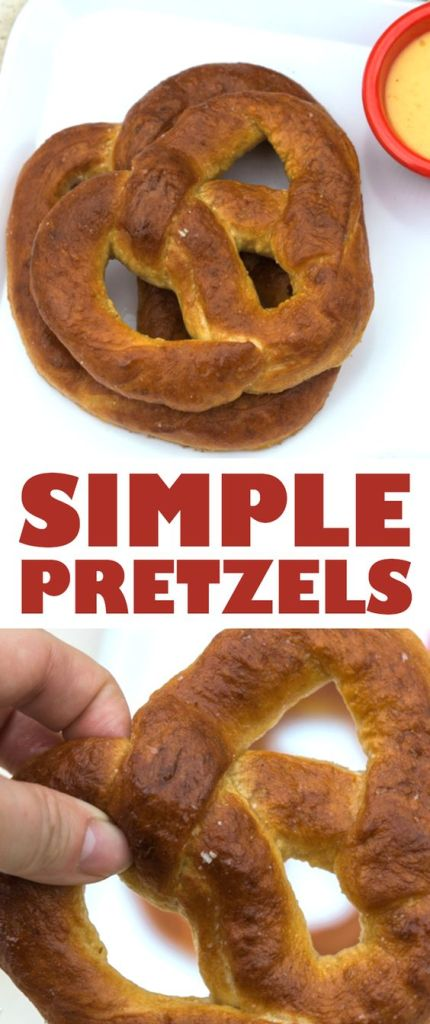 Simple Homemade Pretzel Recipe with Beer Cheese