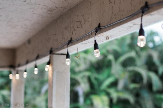 Backyard Upgrade with Outdoor String Lights