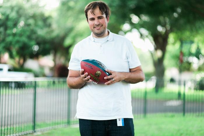 wilson custom football-8436