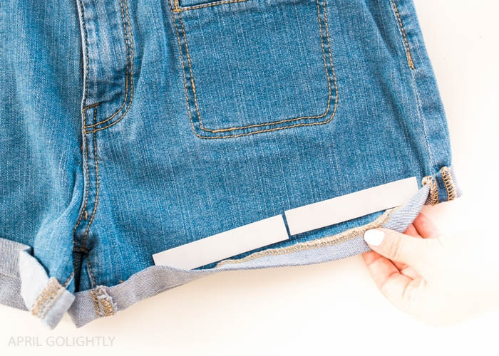 Hemming shorts (8 of 9)