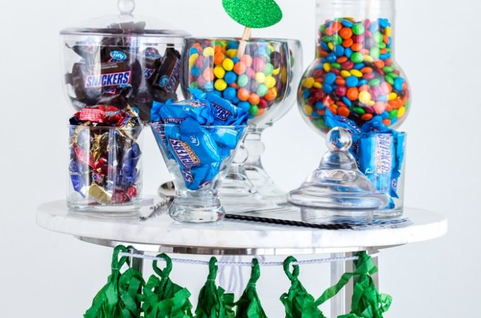 Football Party Candy Table