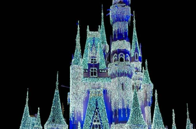 Disney World Resort During the Holidays