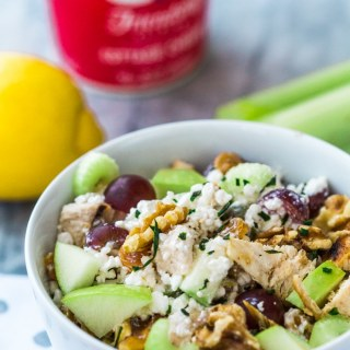 Waldorf Salad Recipe with Cottage Cheese