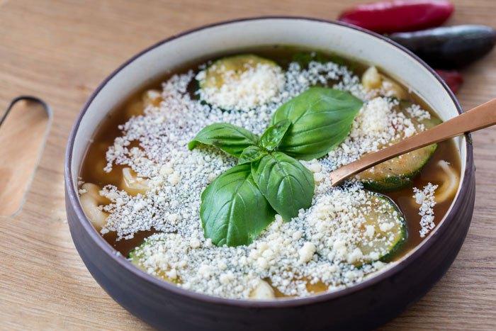 One Pot Tortilla Soup