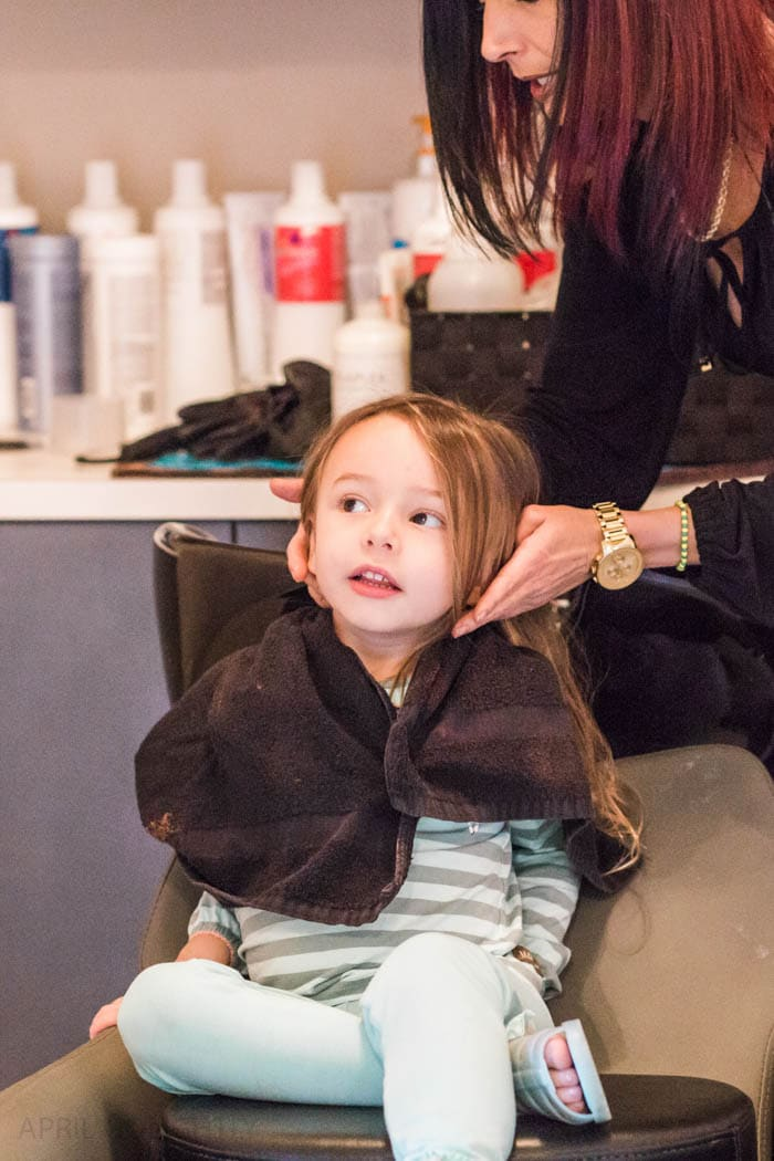Toddler First Hair Cut 5 Of 6