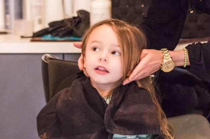 My Toddler's First Hair Cut