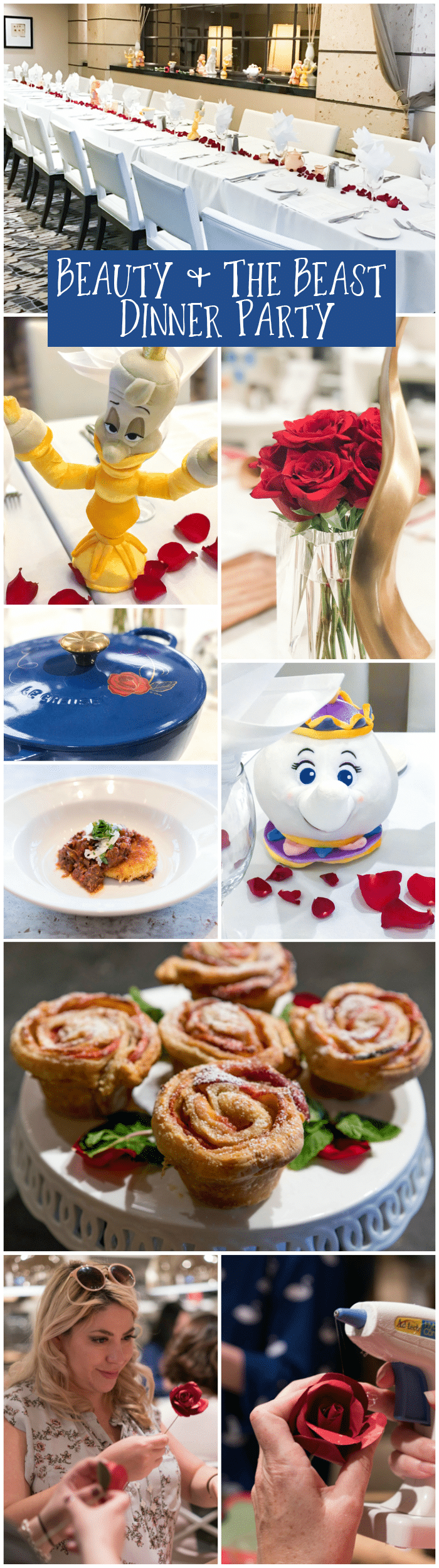 Beauty and the Beast Dinner Party - April Golightly